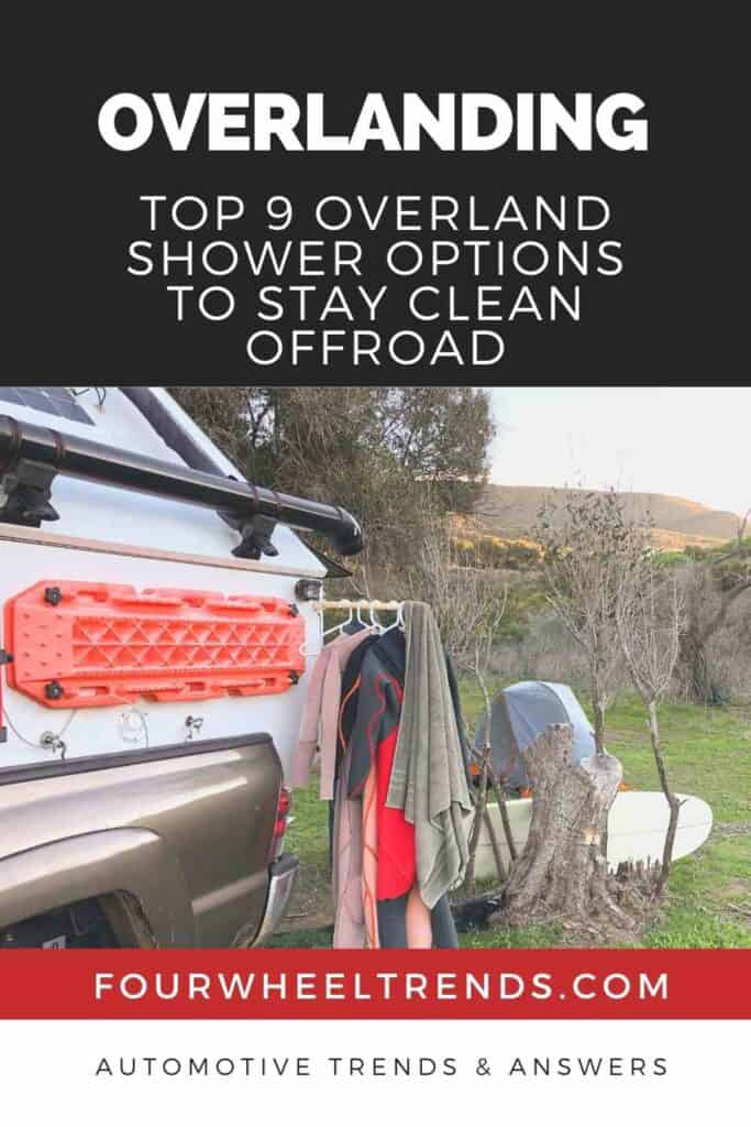 Top 9 Overland Shower Options To Stay Clean Offroad #camping #rv #overland #overlanding #offroad #offroading #carcamping #glamping