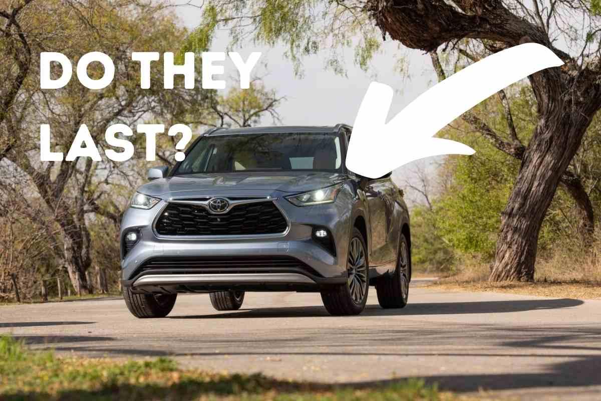 How Long Do Toyota Highlanders Last?