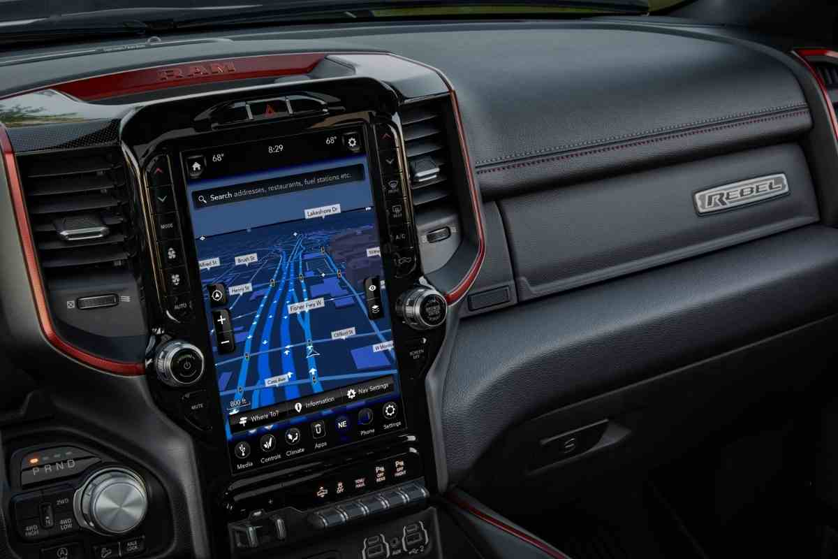 Do Ram trucks have Apple Carplay?