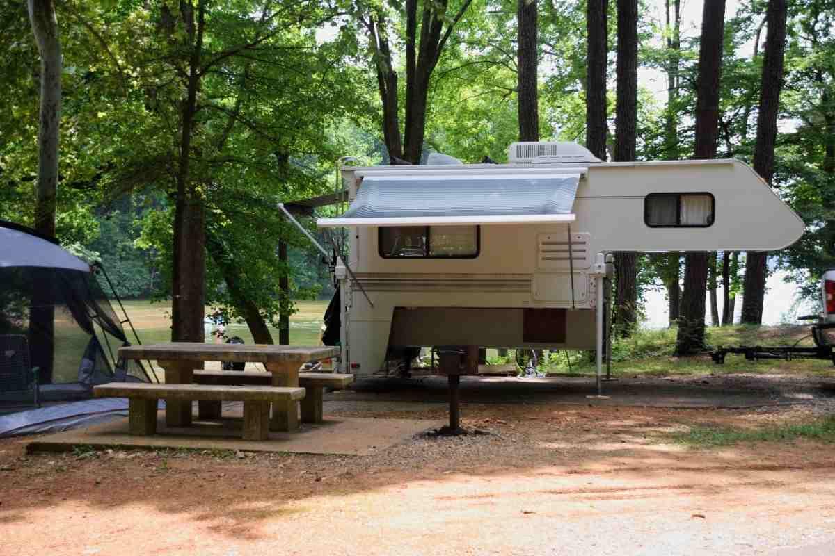Can A Truck Camper Fit In A Garage? #camper #rv #camping #trucks #glamping