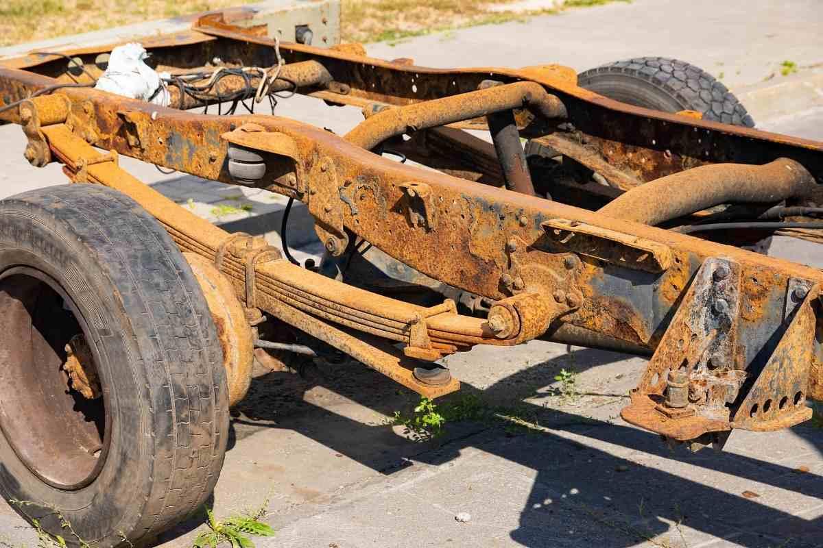 Rusty Truck Frame Pass Inspection