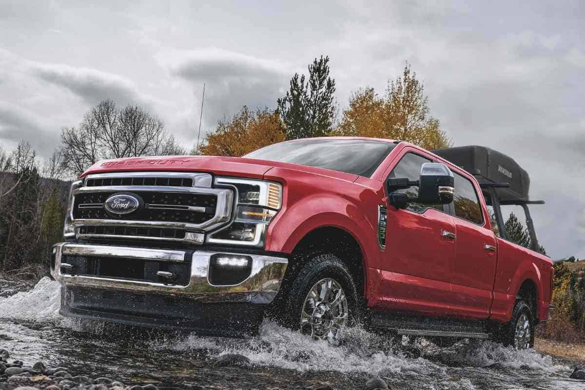 What's The Biggest Tire For A Stock Ford F250?