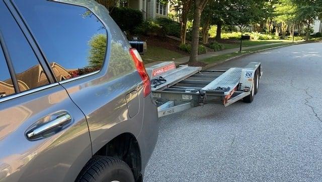 Lexus GX 460 Towing