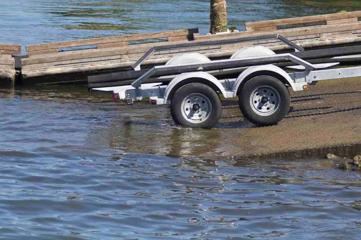 Should You Use Four-Wheel Drive When Towing? Slippery when wet. Towing a boat