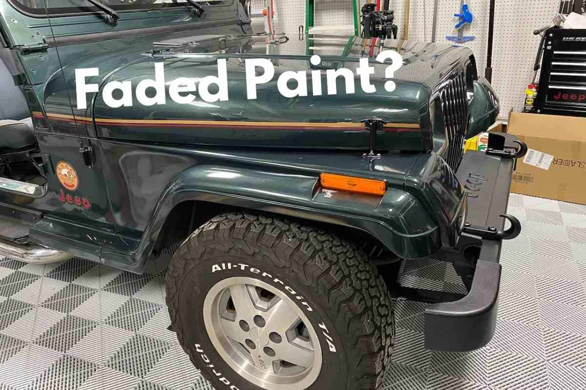 How To Paint Jeep Fender Flares