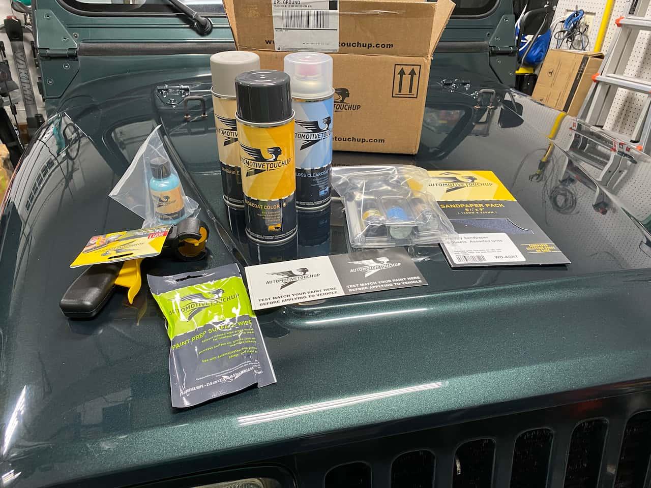 Automotive Touchup Paint kit