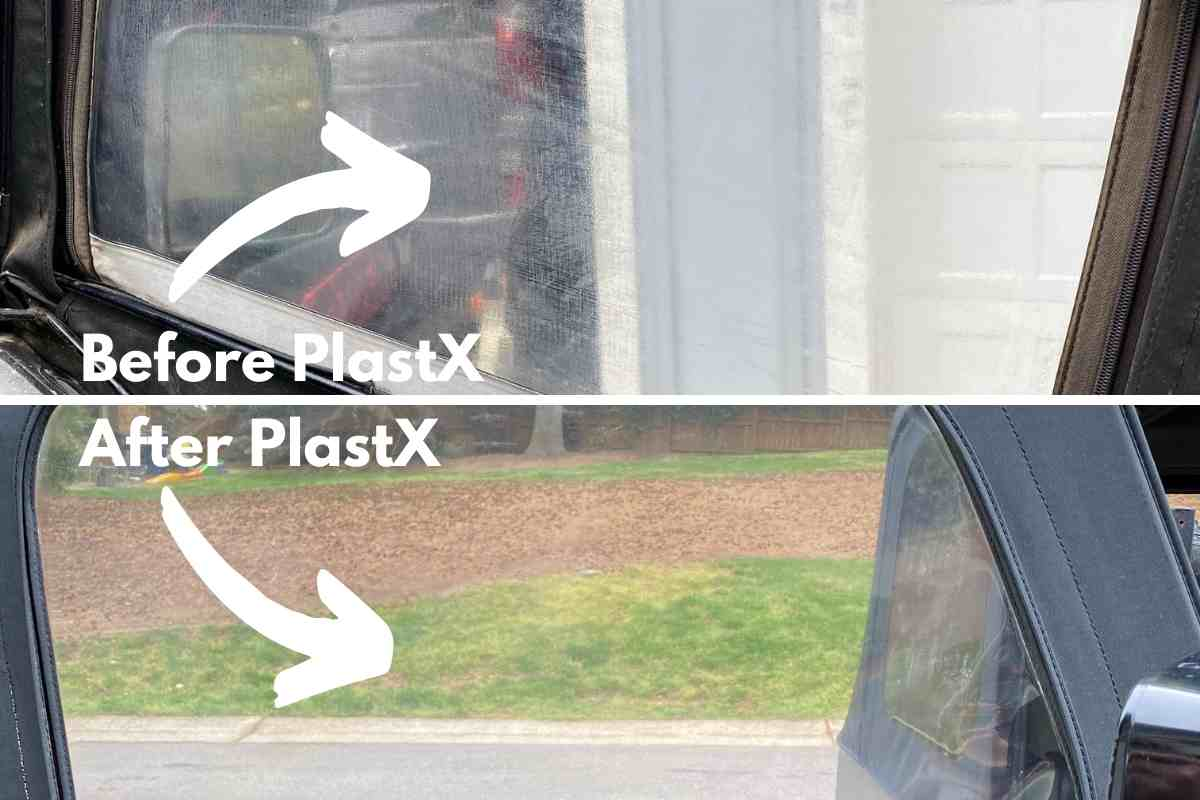 PlastX Before and After Jeep Window