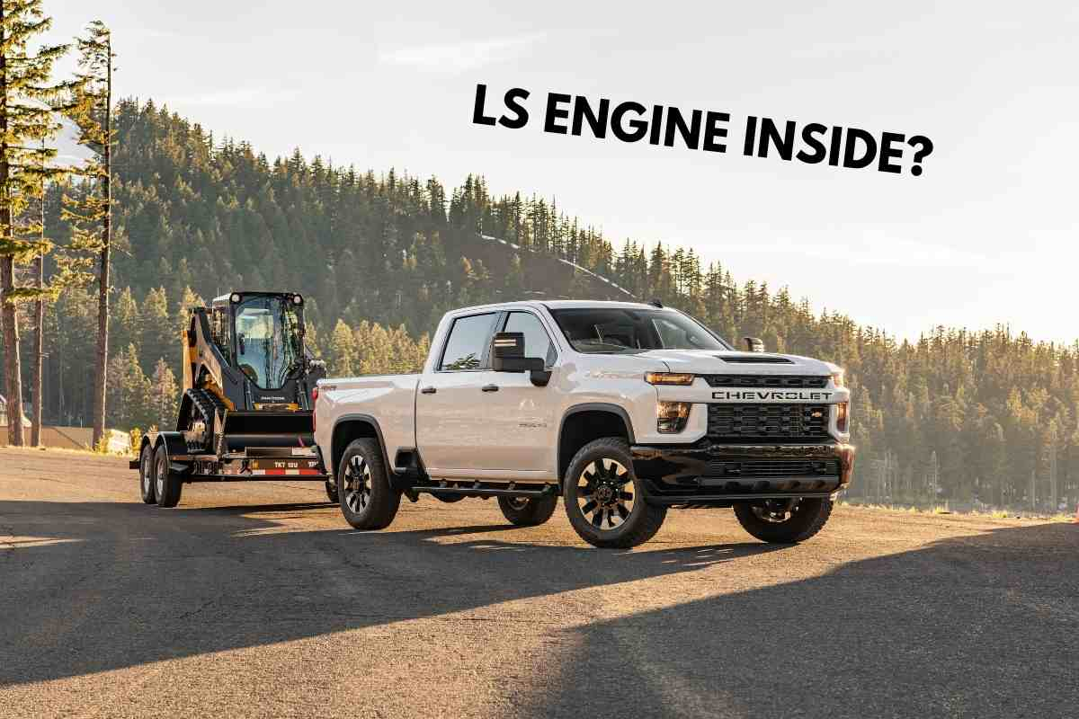 What Chevrolet trucks have LS engines?