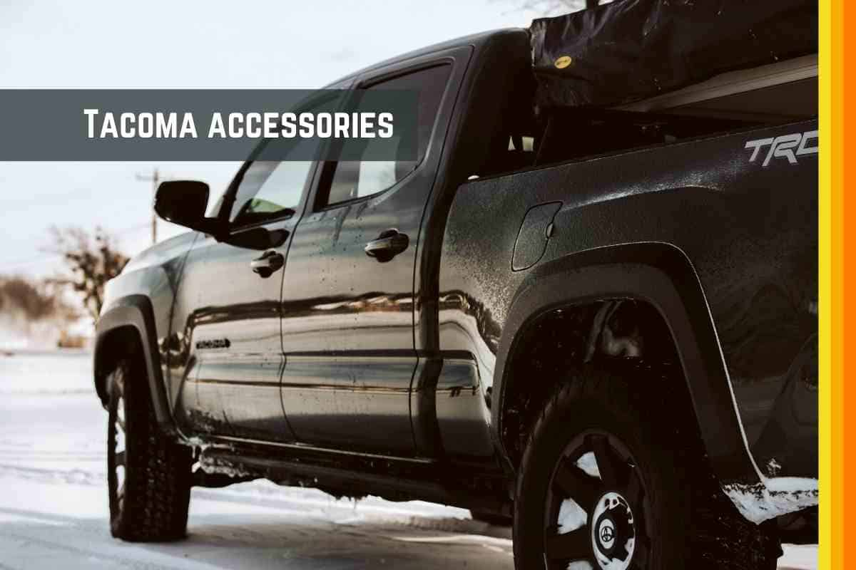 Best Accessories for Toyota Tacoma