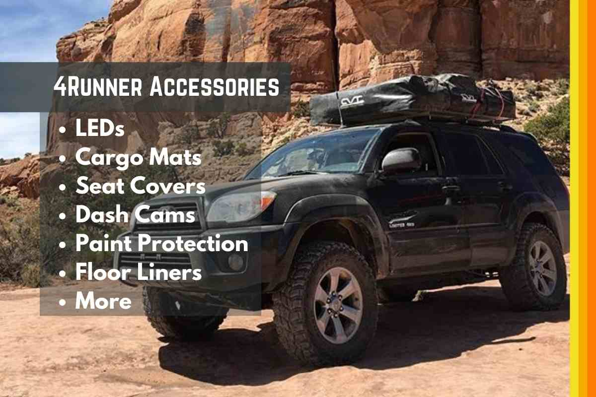 The Best Accessories for Toyota 4Runner