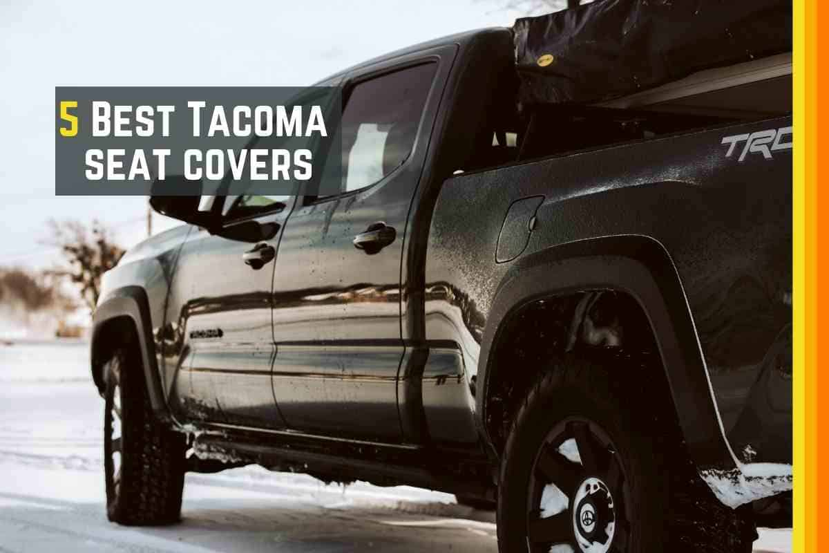 Best Toyota Tacoma Seat Covers