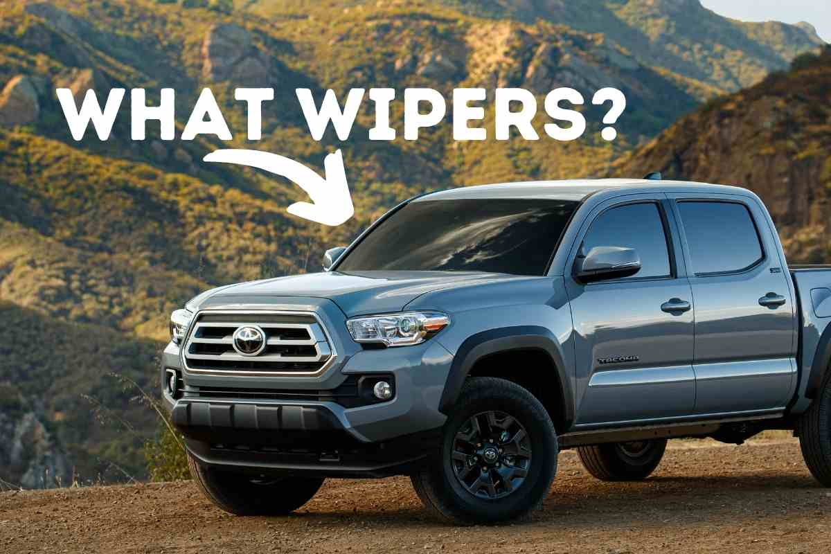 Best Toyota Tacoma Windshield Wipers