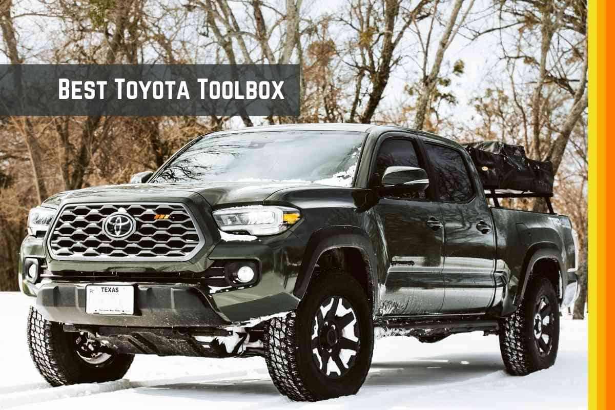 Best Toyota Tacoma Toolbox