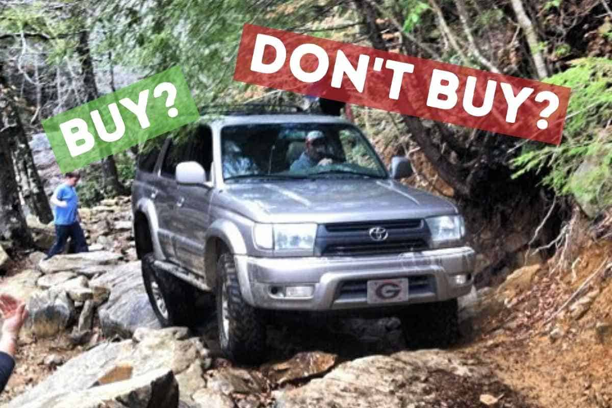 What To Look For In A Used Toyota 4Runner?