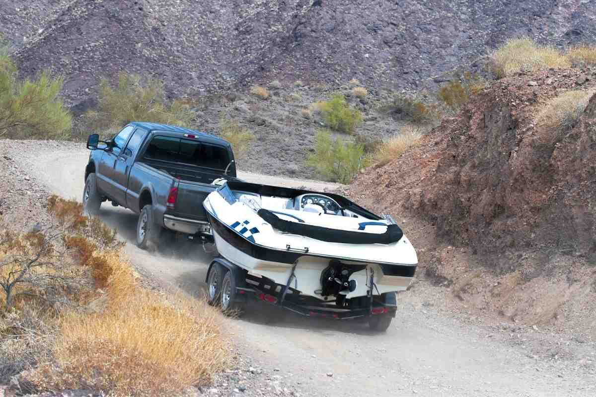 How do I keep my truck from sagging when towing