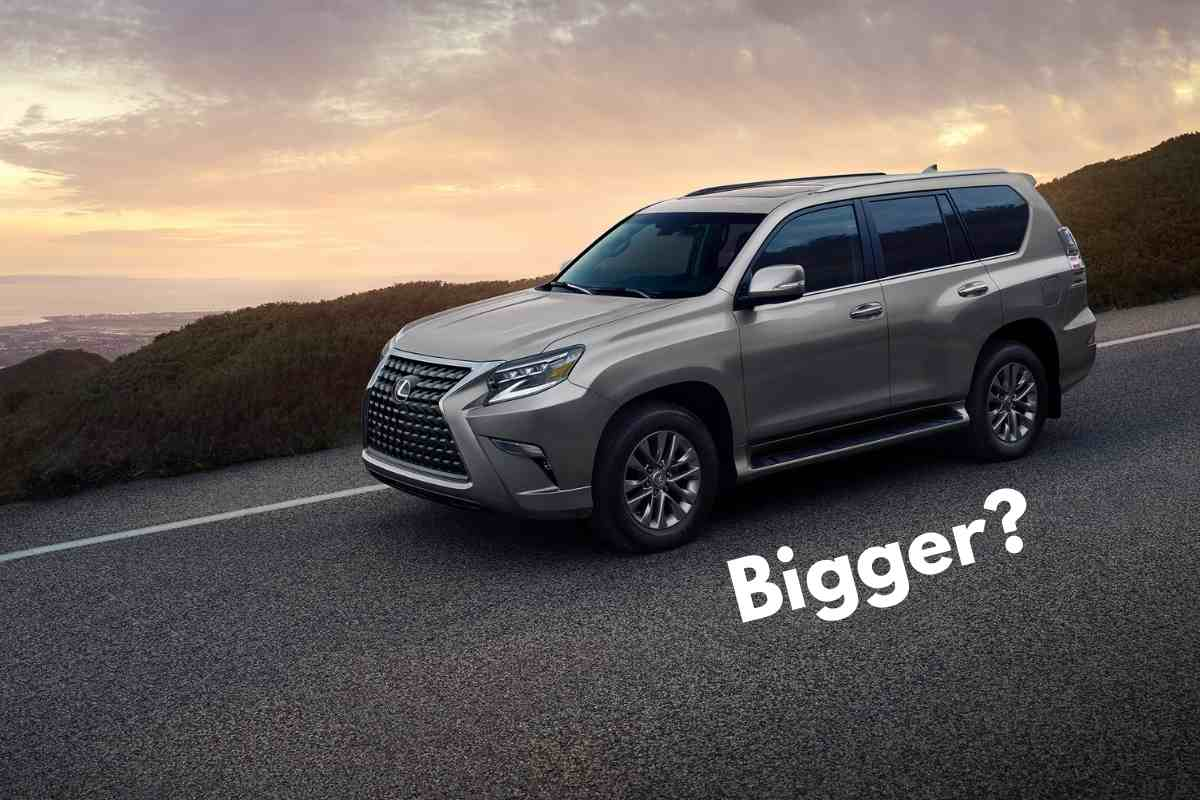 Is the Lexus GX or LX bigger?