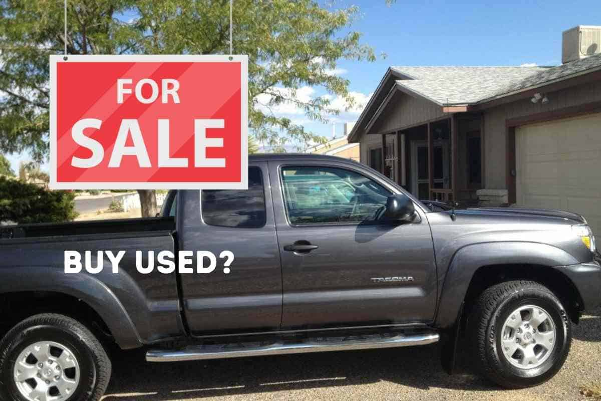 What should I look for in a used Toyota Tacoma