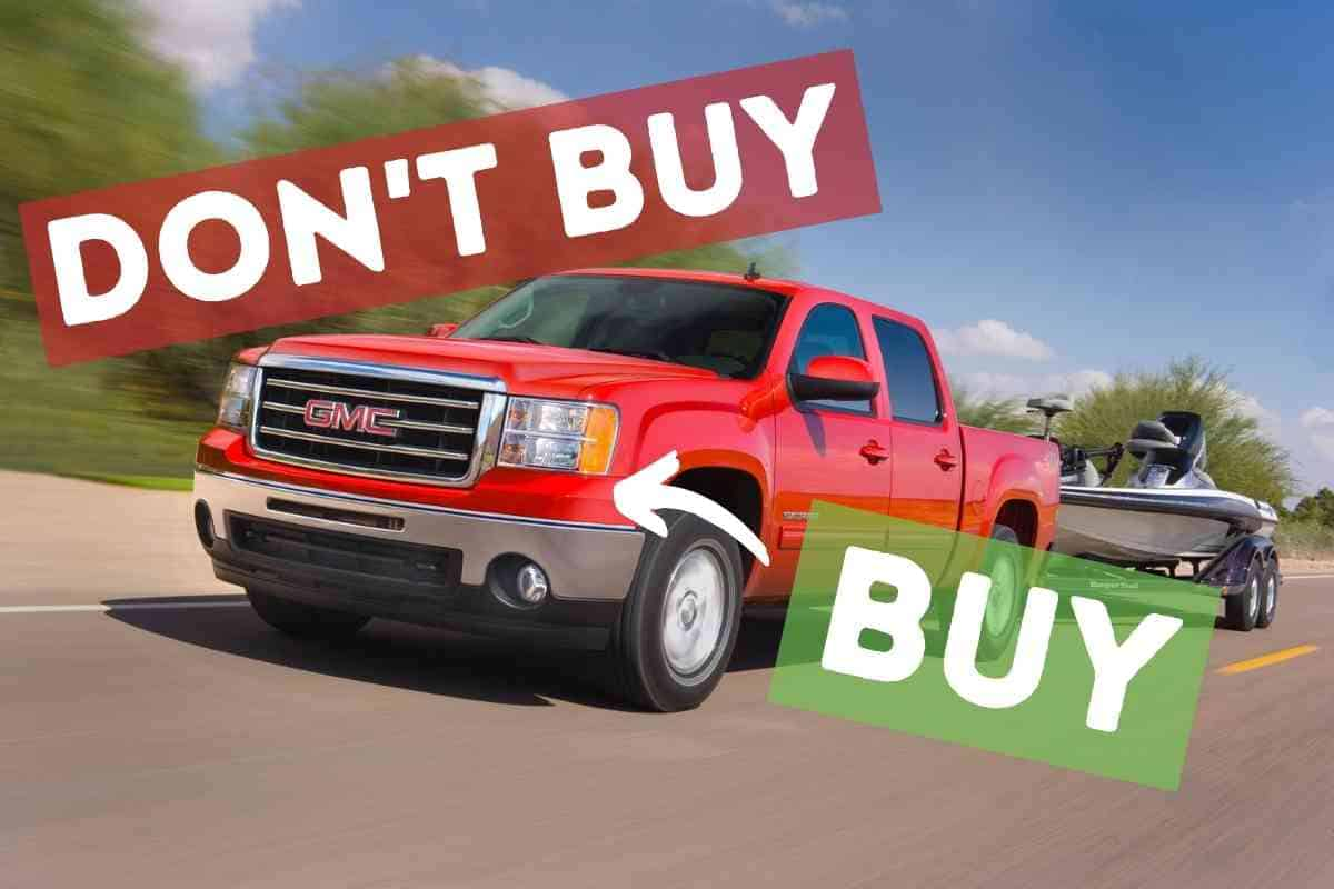 What are the Best Years for the GMC Sierra Truck