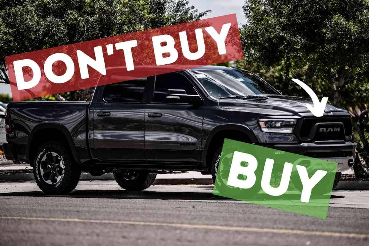 What to look for when buying a used Ram Truck?
