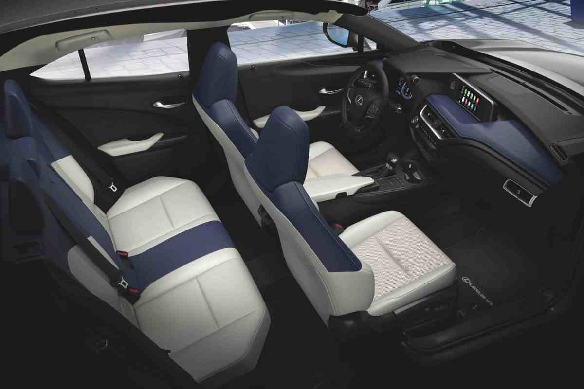 Lexus UX is a five-seater compact luxury with two rows of seating. The front seats are plush and supporting, offering a very comfortable driving position for long distances.