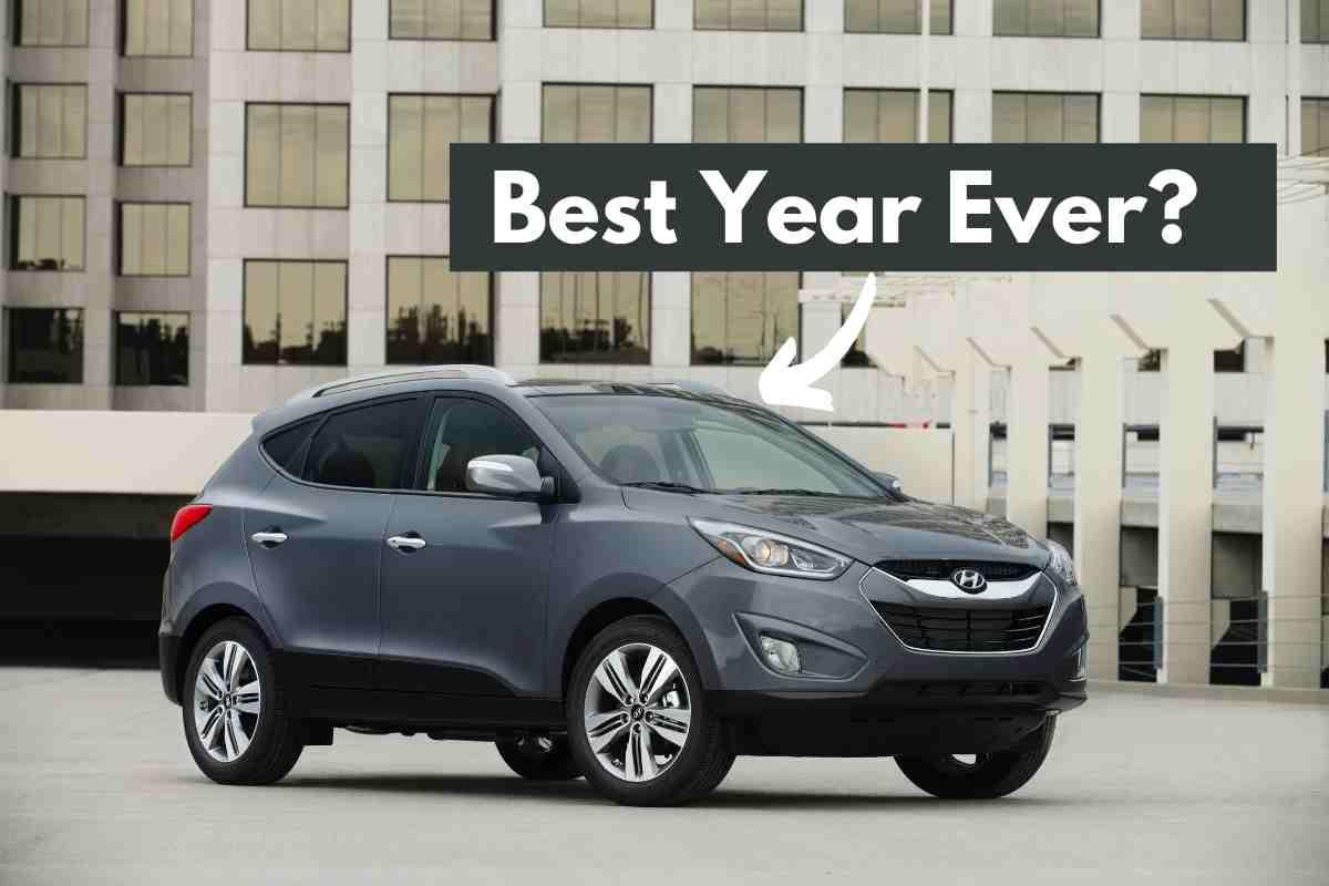 best years for the Hyundai Tucson