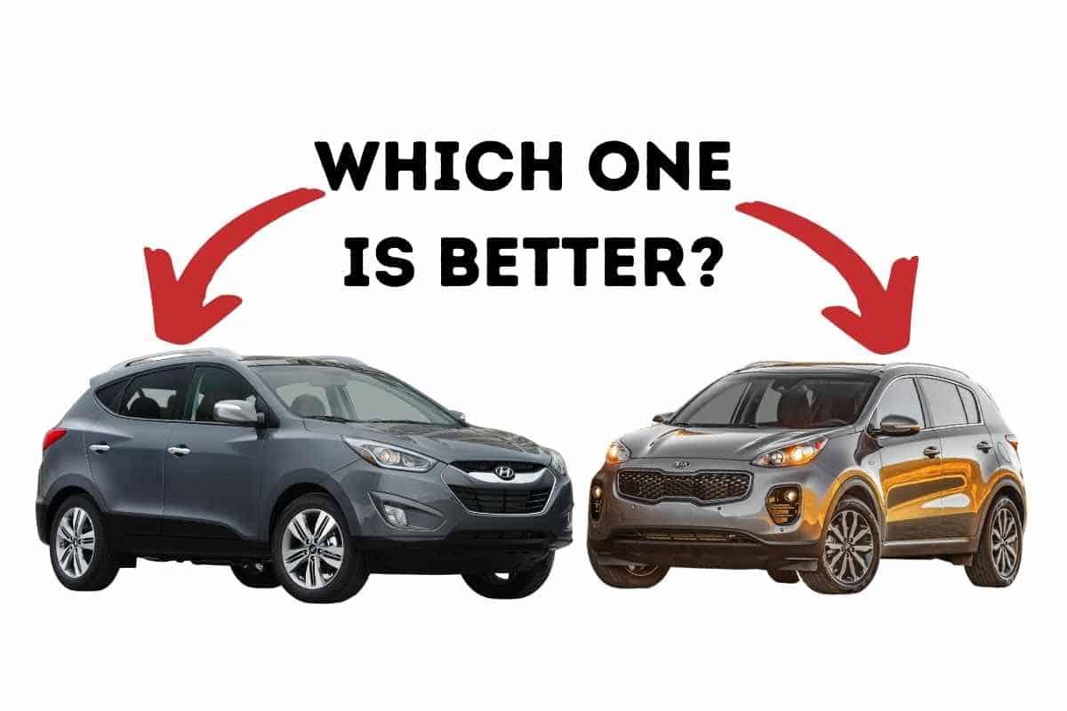 Difference Between Hyundai Tucson and Kia Sportage